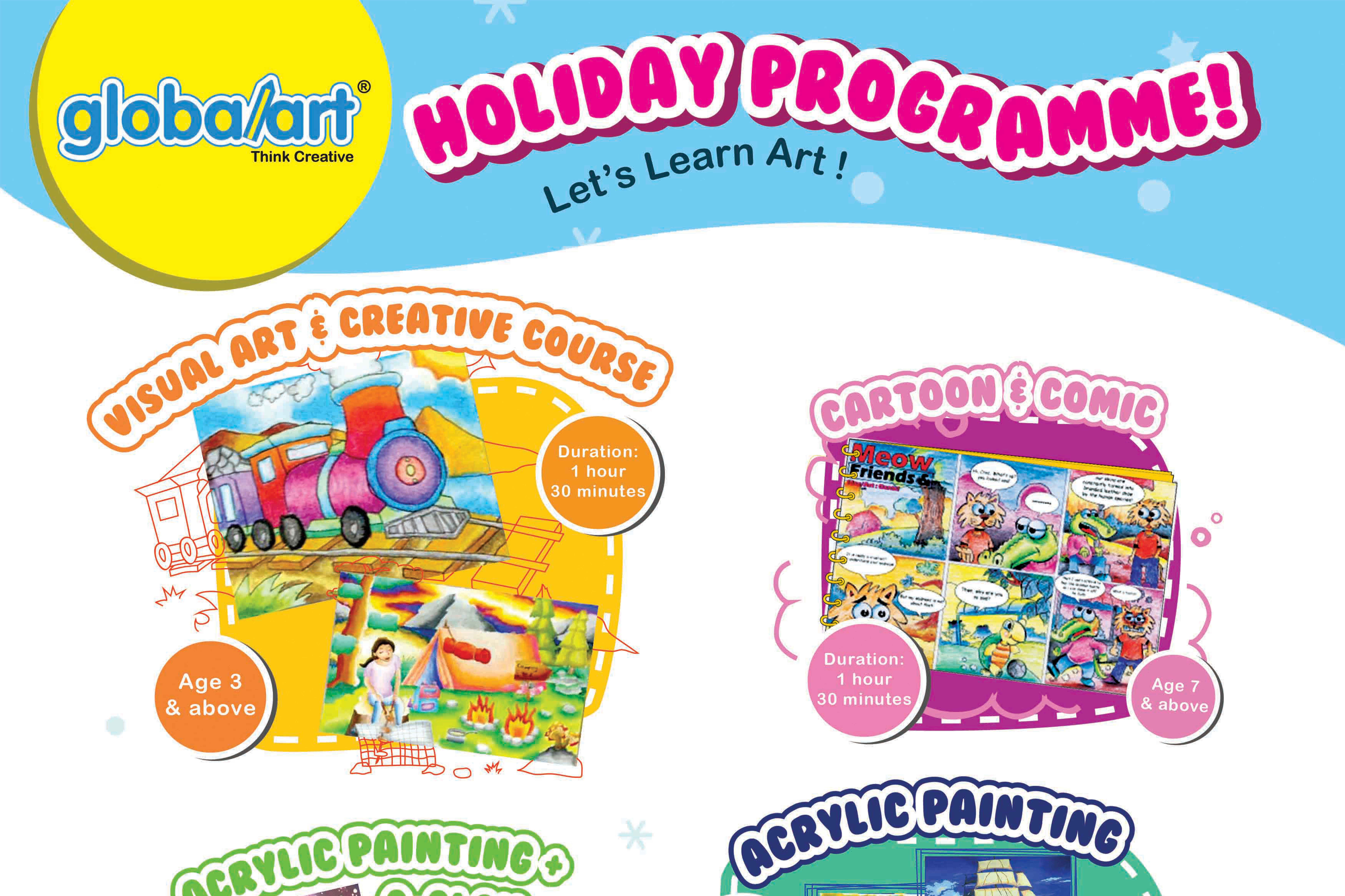 September 2019 Holiday Programmes are out!