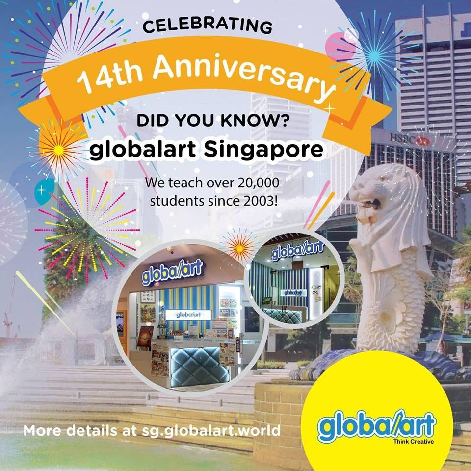 Globalart Singapore14th Anniversary