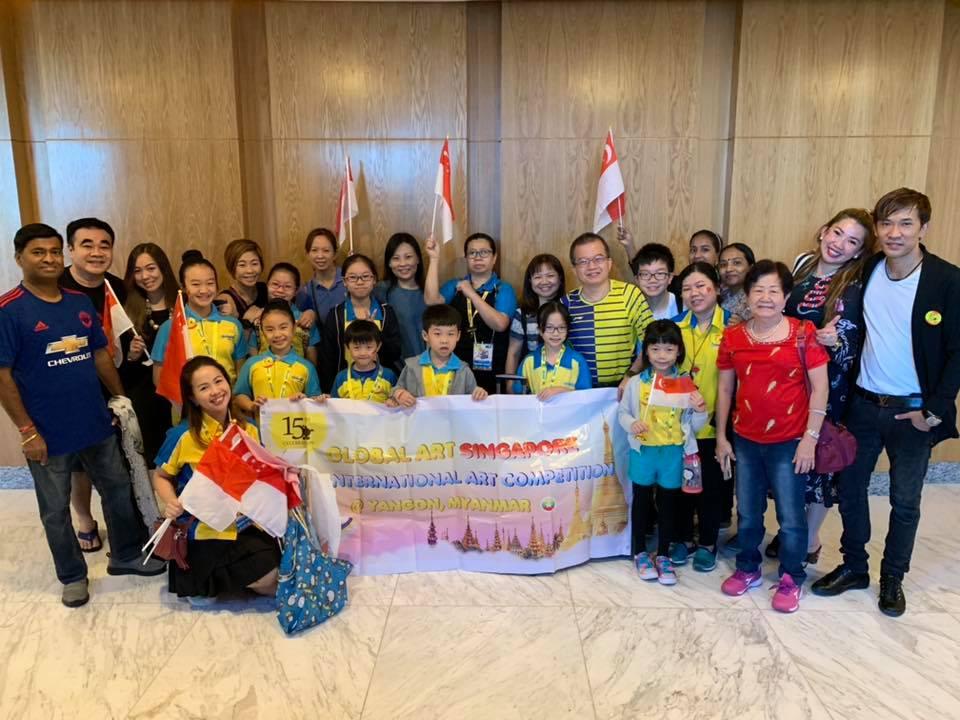 International Art Competition 2018 Yangon, Myanmar