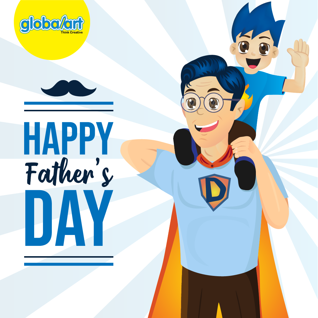 Happy Father's Day 2021 Greetings from Global Art Singapore
