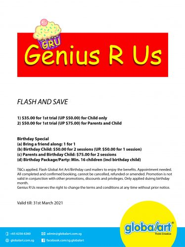 Genius R Us March 2021(Enlarged)