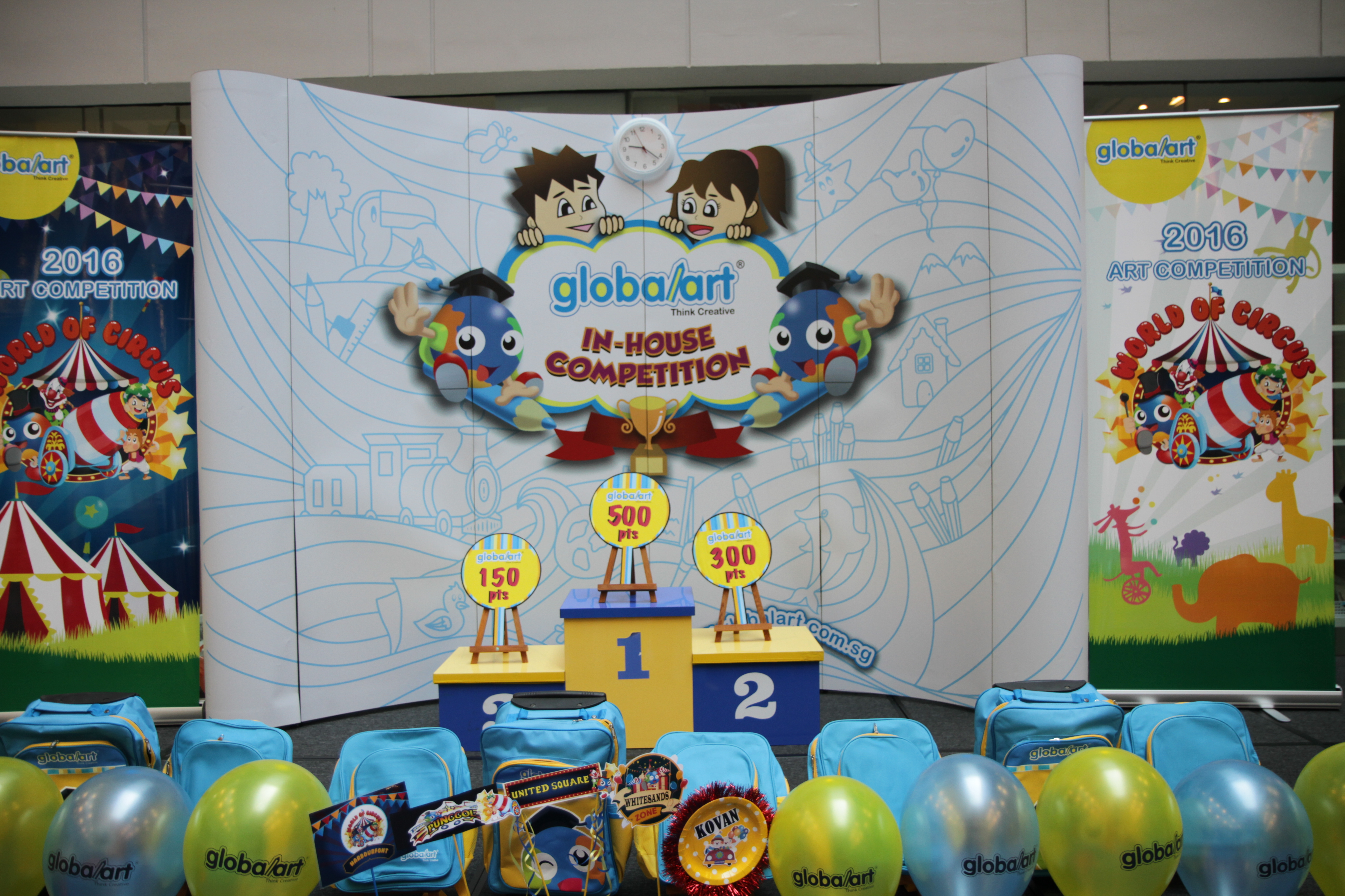 2016 Globalart In House Competition, Singapore