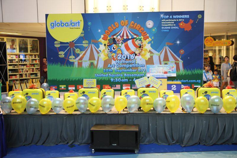 2016 Globalart National Competition, Singapore