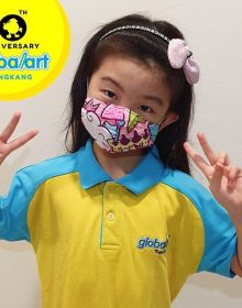 Kids mask (Sewn with love project)