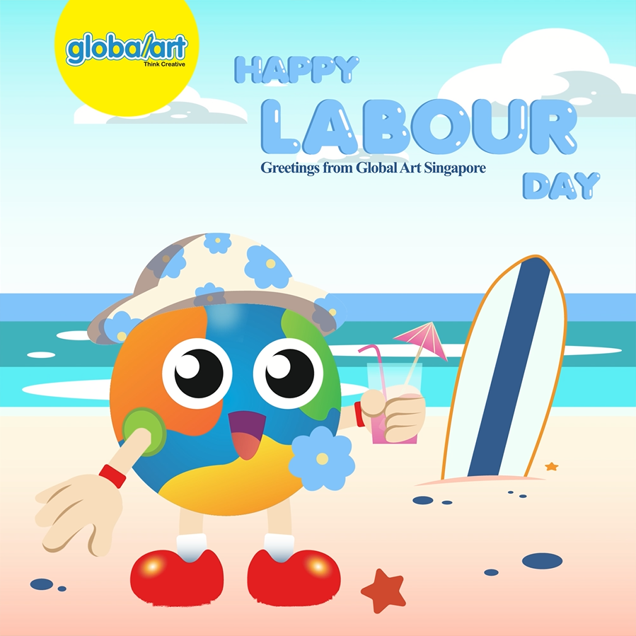 Labour Day Animation 2021 from Global Art Singapore