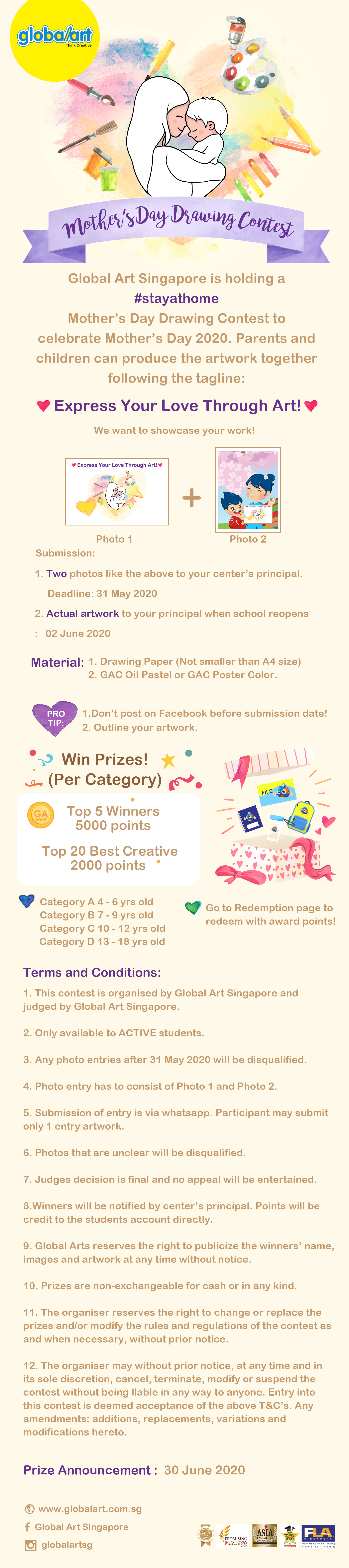 Mother's Day Drawing Contest 2020-01