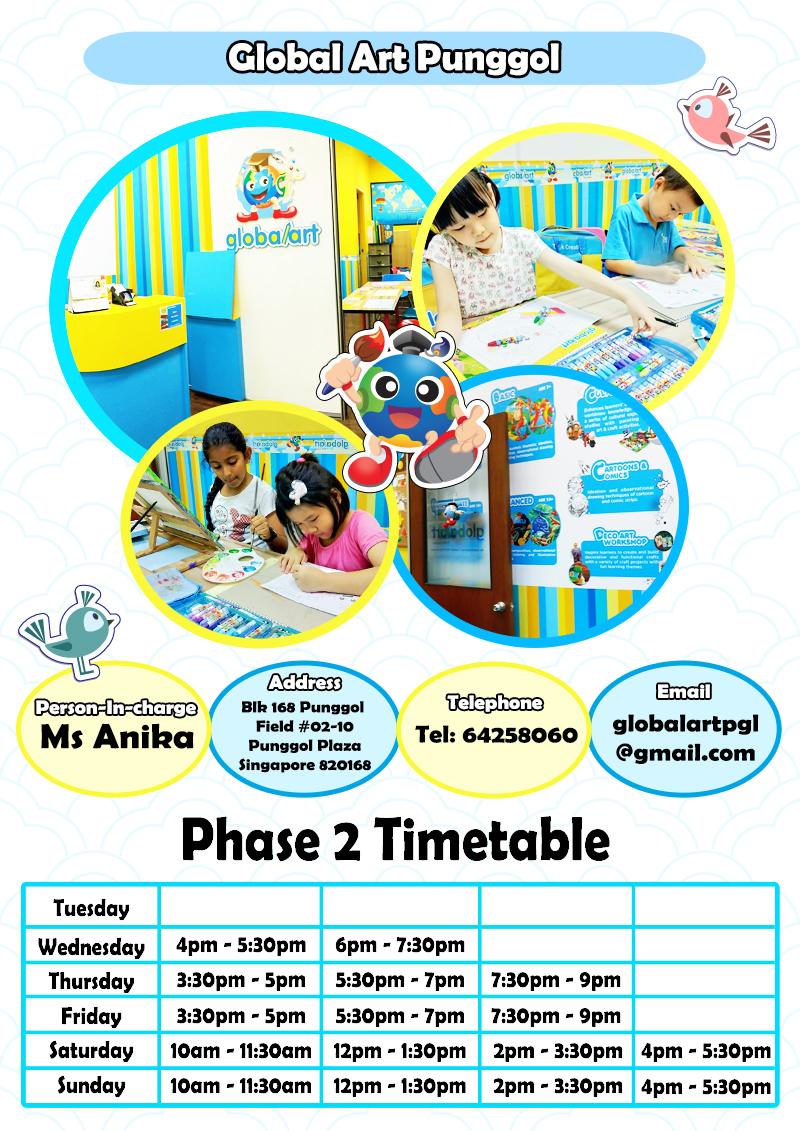 PGL Phase 2 Timetable Sept 2020 New Teacher