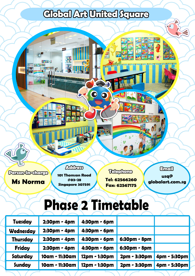 USQ Phase 2 Timetable