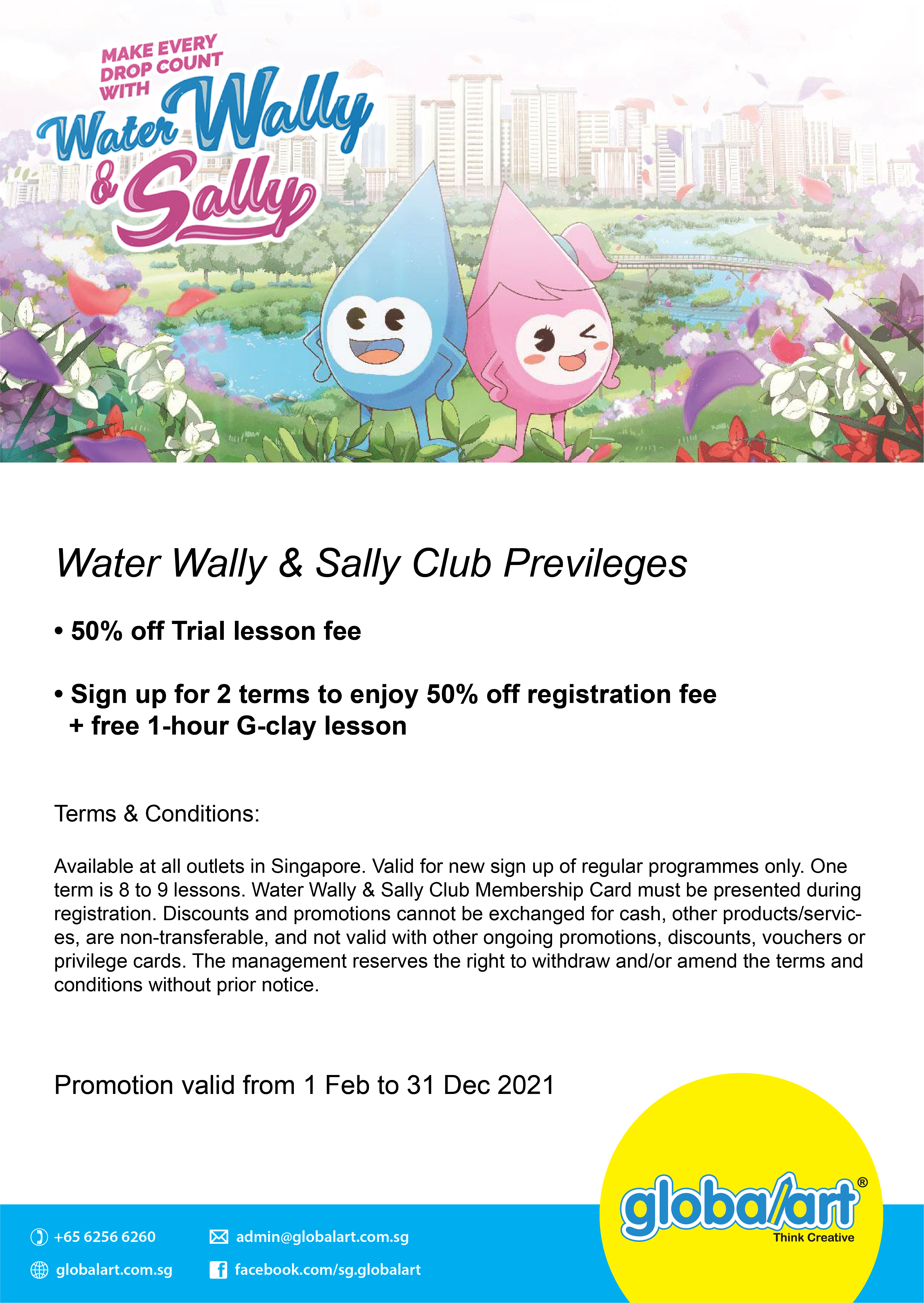 Water Wally & Sally Club 2021