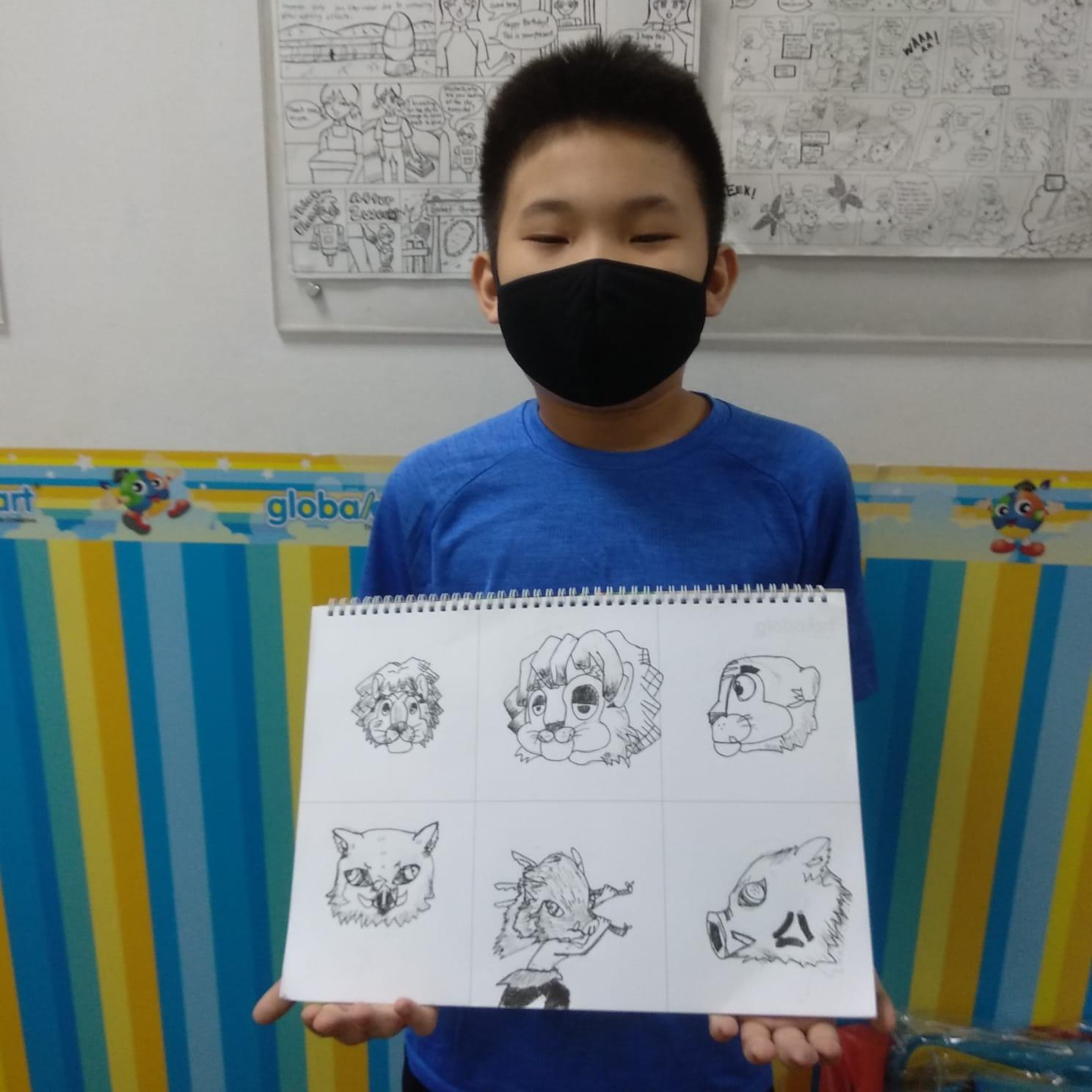 Cartoon & Comic Student Gallery