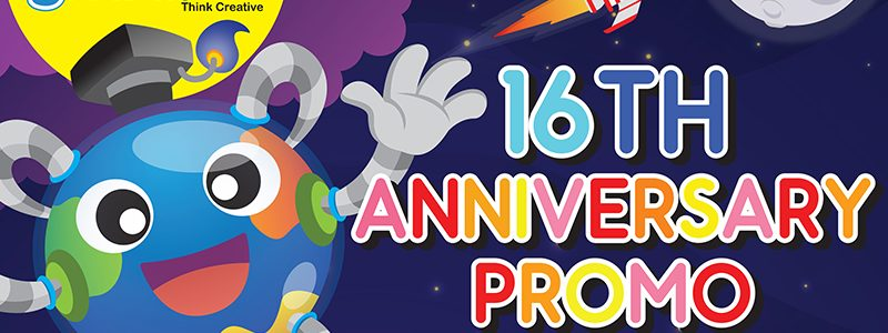 16th ANNIVERSARY PROMOTION