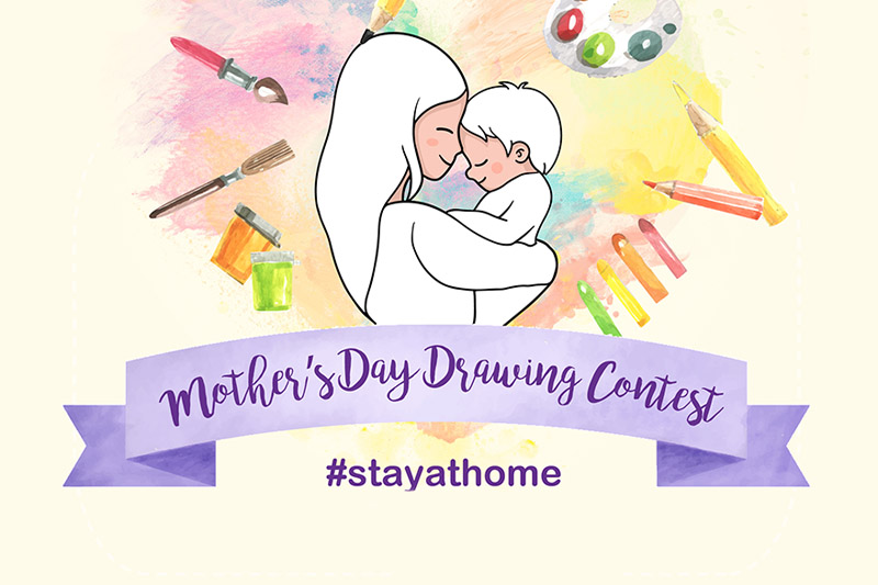 Mother's Day Drawing Contest 2020